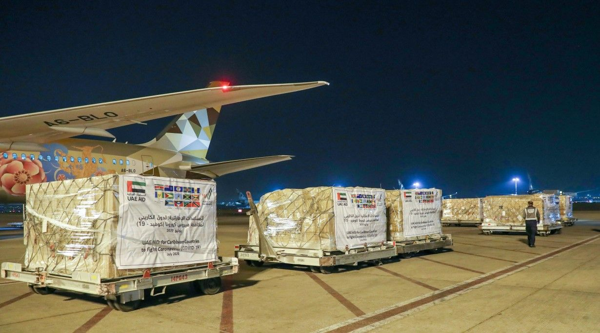 UAE sends medical aid to Caribbean Islands in fight against COVID-19