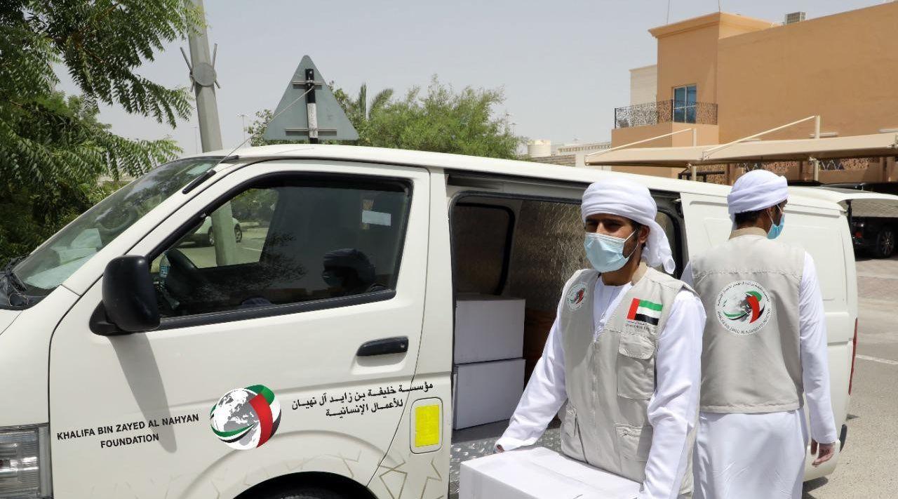 أكثر من 56,529 أسرة استفادت من حملة خليفة الإنسانية في مواجهة فيروس كوفيد-19