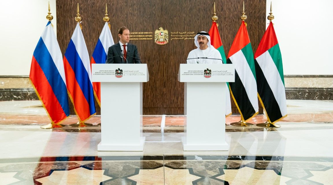 UAE and Russian ministers discuss bilateral relations, COVID-19 response