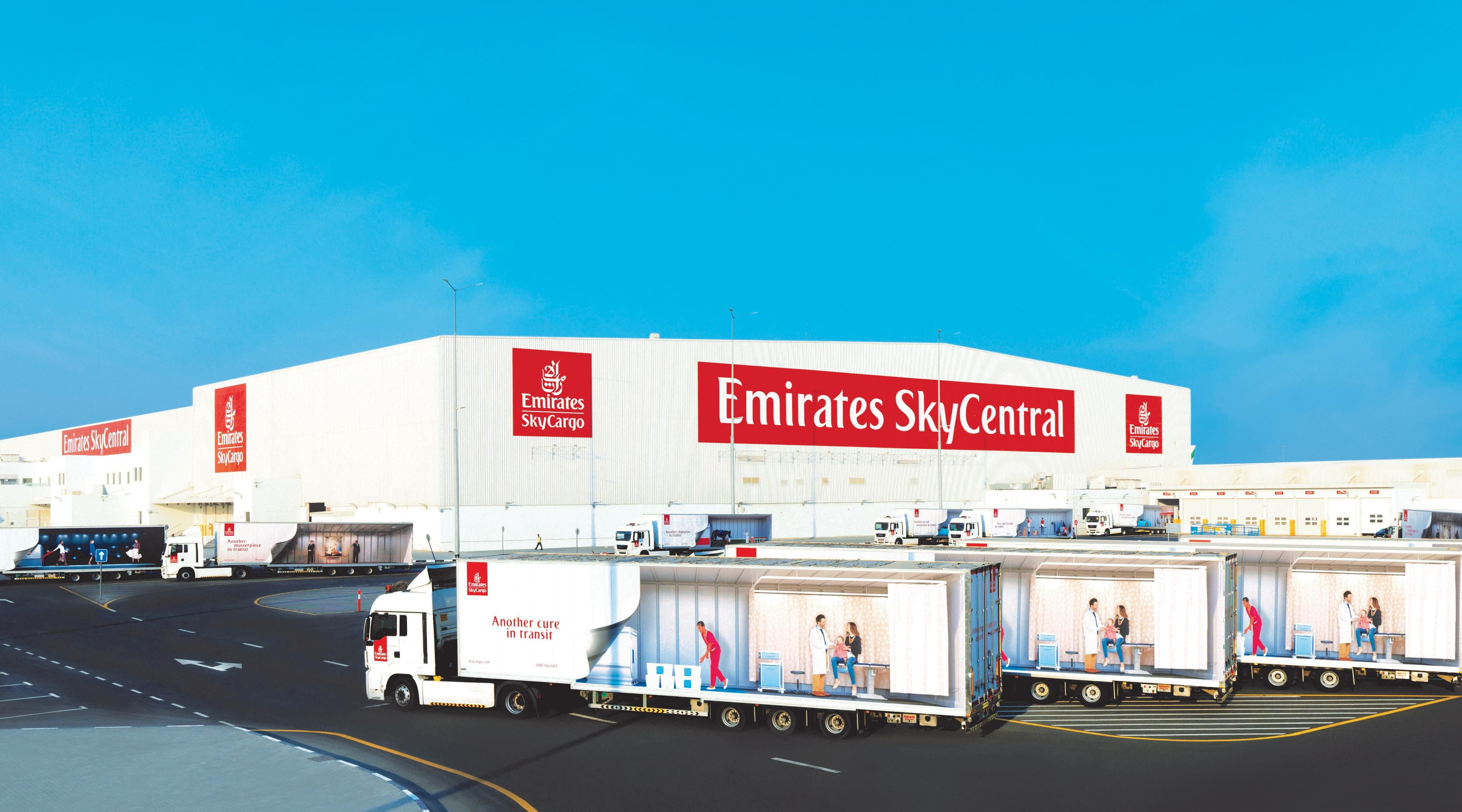 Emirates SkyCargo steps up with a dedicated facility ensuring safe Covid vaccine transportation
