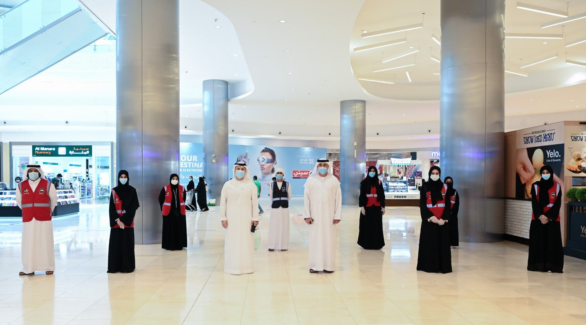 Abu Dhabi launches campaign to spread awareness about COVID among businesses