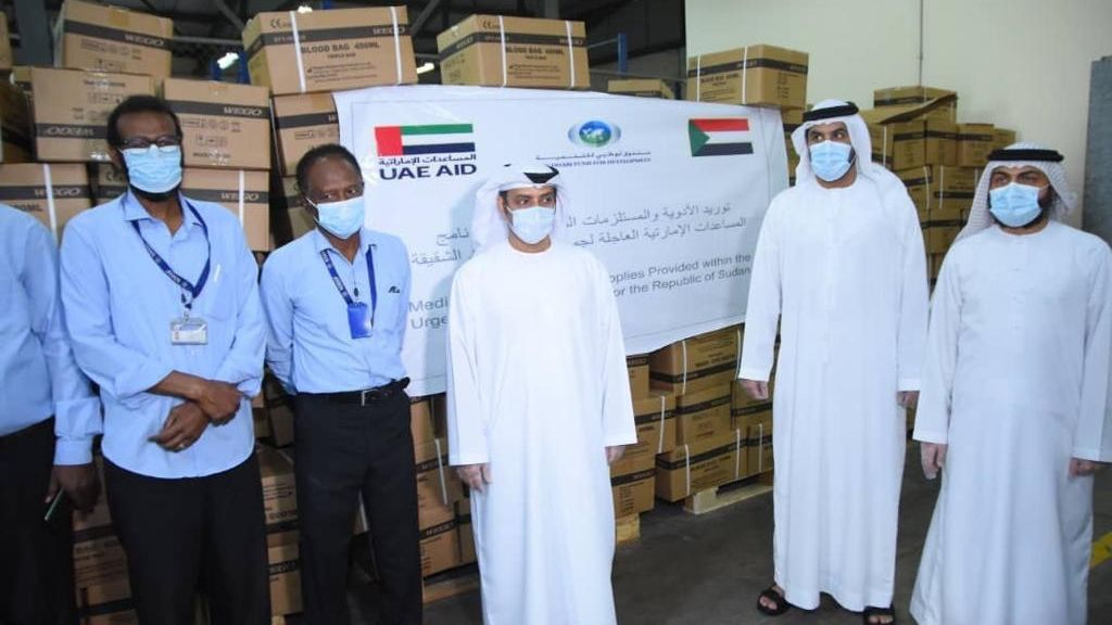 UAE delivers third shipment of medical supplies to Sudan